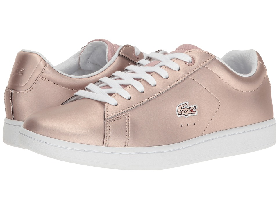 Lacoste - Carnaby Evo 117 3 (Light Pink) Women's Shoes