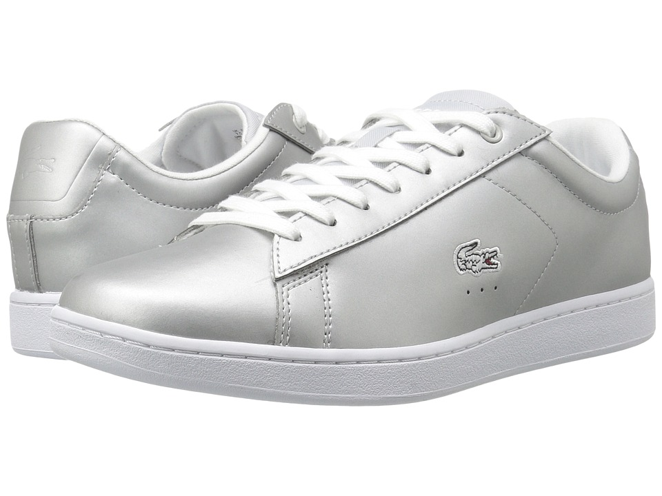 Lacoste - Carnaby Evo 117 3 (Light Grey) Women's Shoes