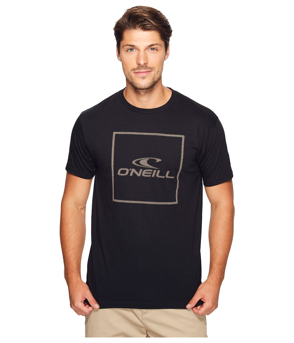 O'Neill - Boxed Tee (Black) Men's T Shirt