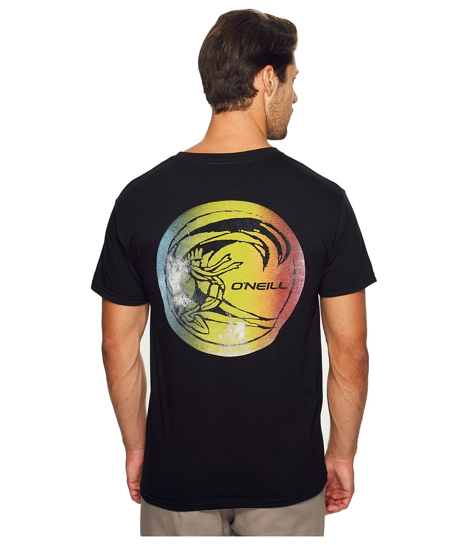 O'Neill - Slabs Tee (Black) Men's T Shirt