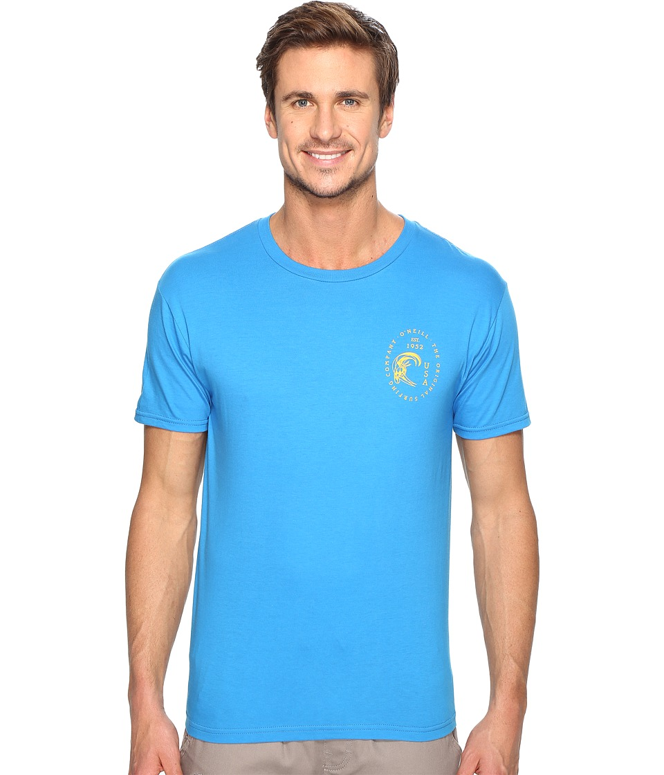 O'Neill - Huevo Tee (Brilliant Blue) Men's T Shirt