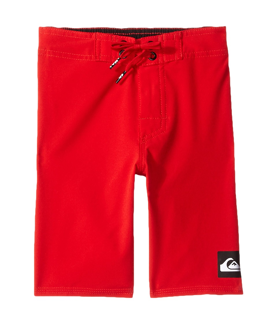 Quiksilver Kids - Everyday Kaimana Vee Boardshorts (Toddler/Little Kids) (Quik Red) Boy's Swimwear