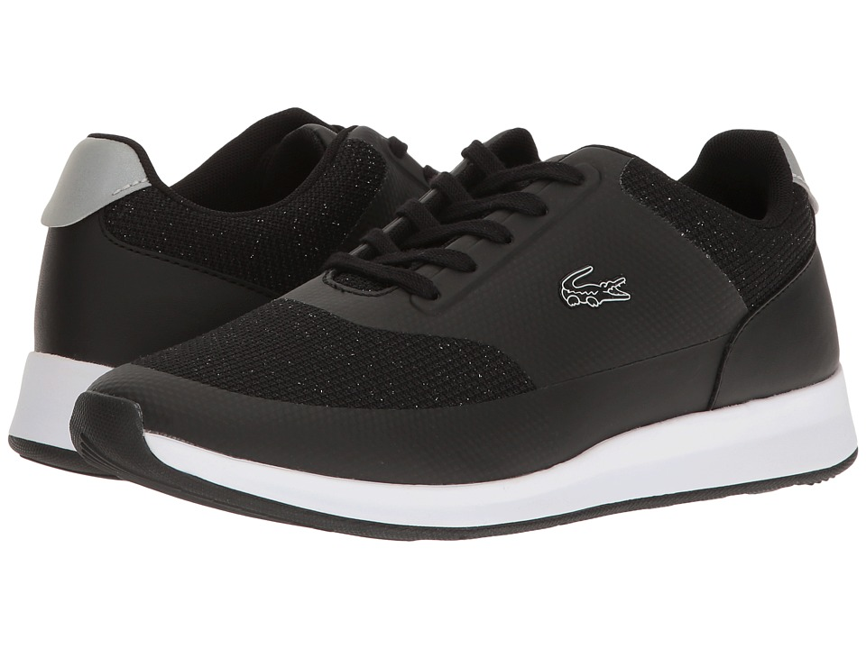 Lacoste - Chaumont Lace 117 1 (Black) Women's Shoes