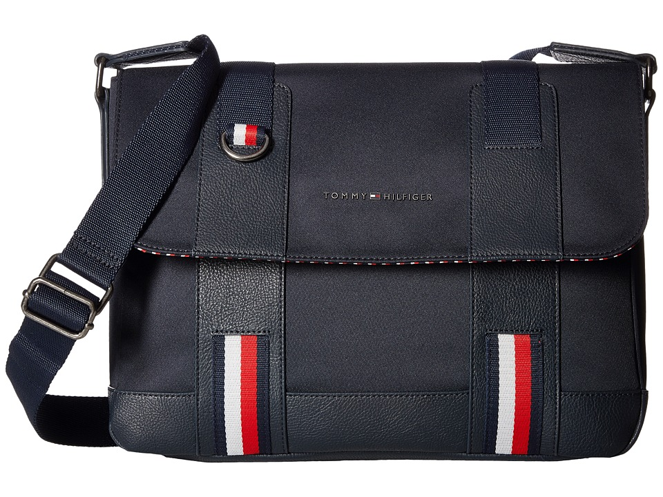 Tommy Hilfiger - Business Novelty Flap (Tommy Navy) Novelty Handbags