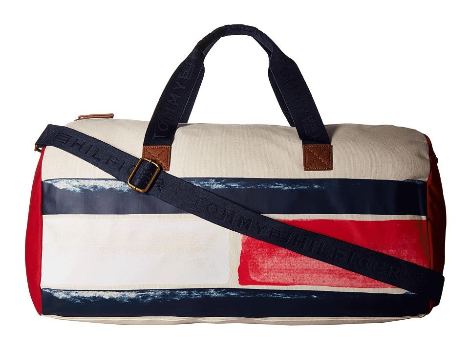 Tommy Hilfiger Simon Duffel (Natural) Duffel Bags