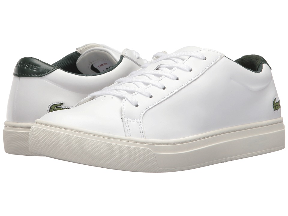 Lacoste - L.12.12 117 3 (White/Green) Women's Shoes