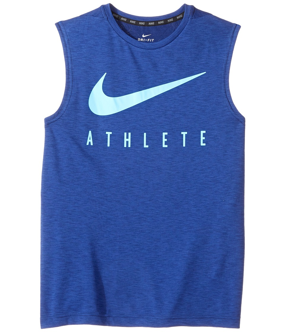 Nike Kids - Breathe Sleeveless Training Top (Little Kids/Big Kids) (Binary Blue) Boy's Sleeveless