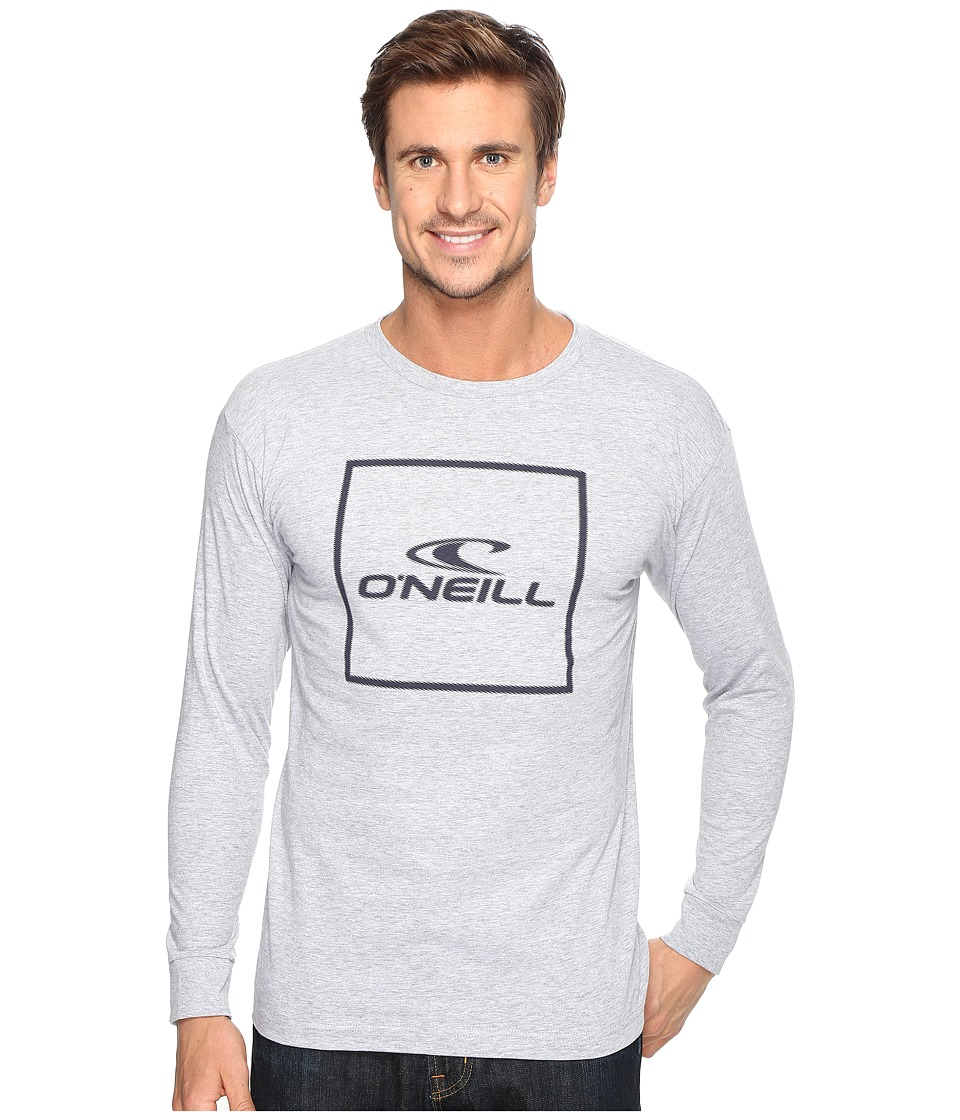 O'Neill - Boxed Long Sleeve Tee (Heather Grey) Men's T Shirt