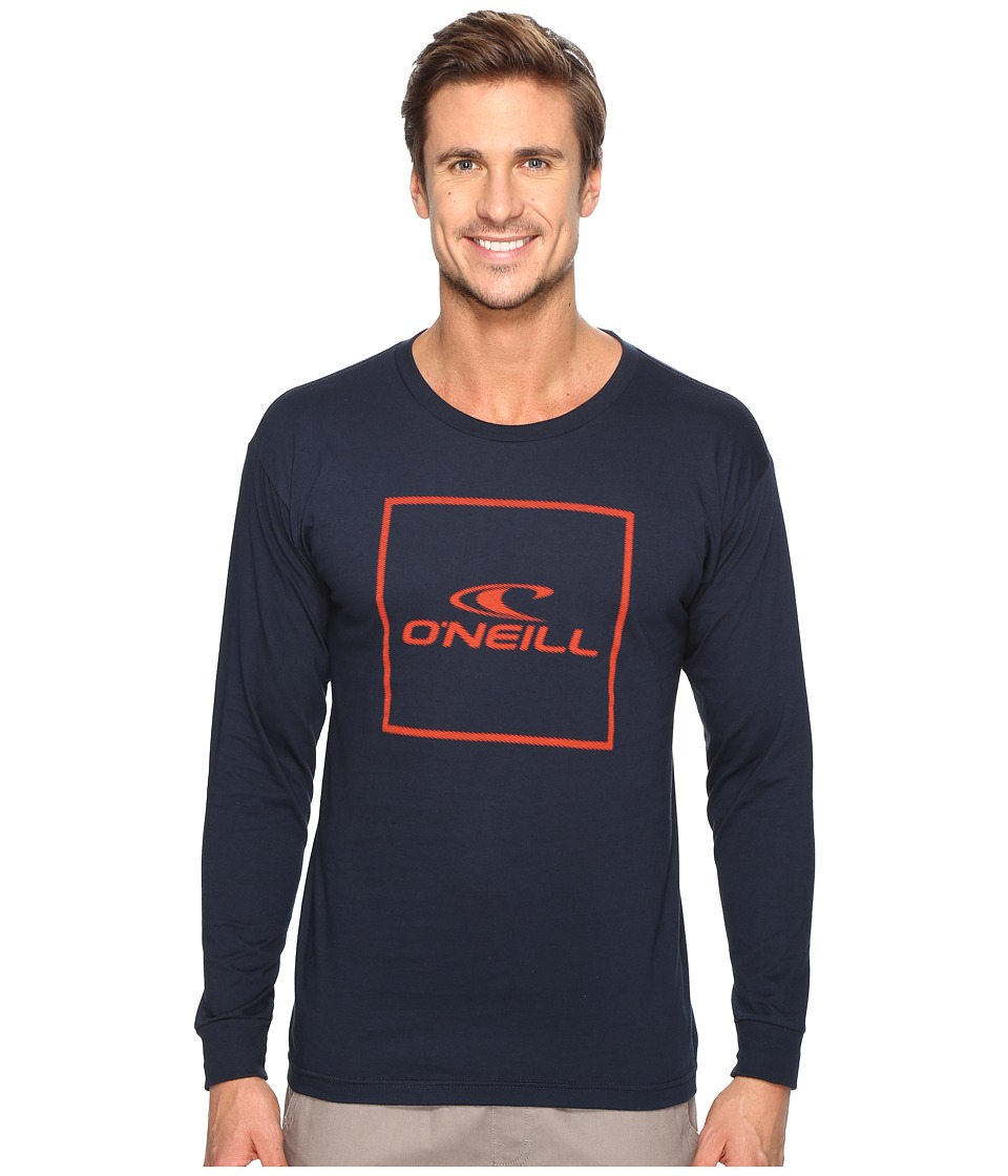 O'Neill - Boxed Long Sleeve Tee (Navy) Men's T Shirt