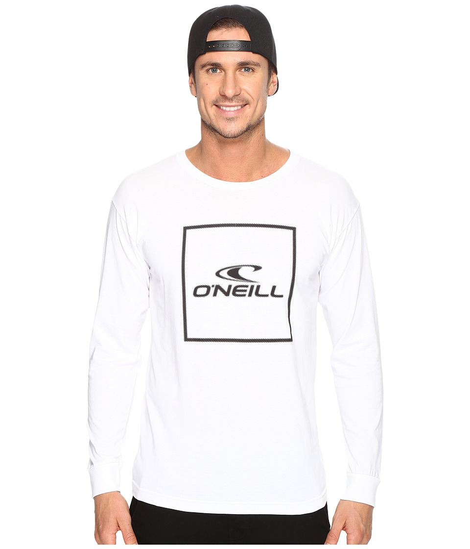 O'Neill - Boxed Long Sleeve Tee (White) Men's T Shirt