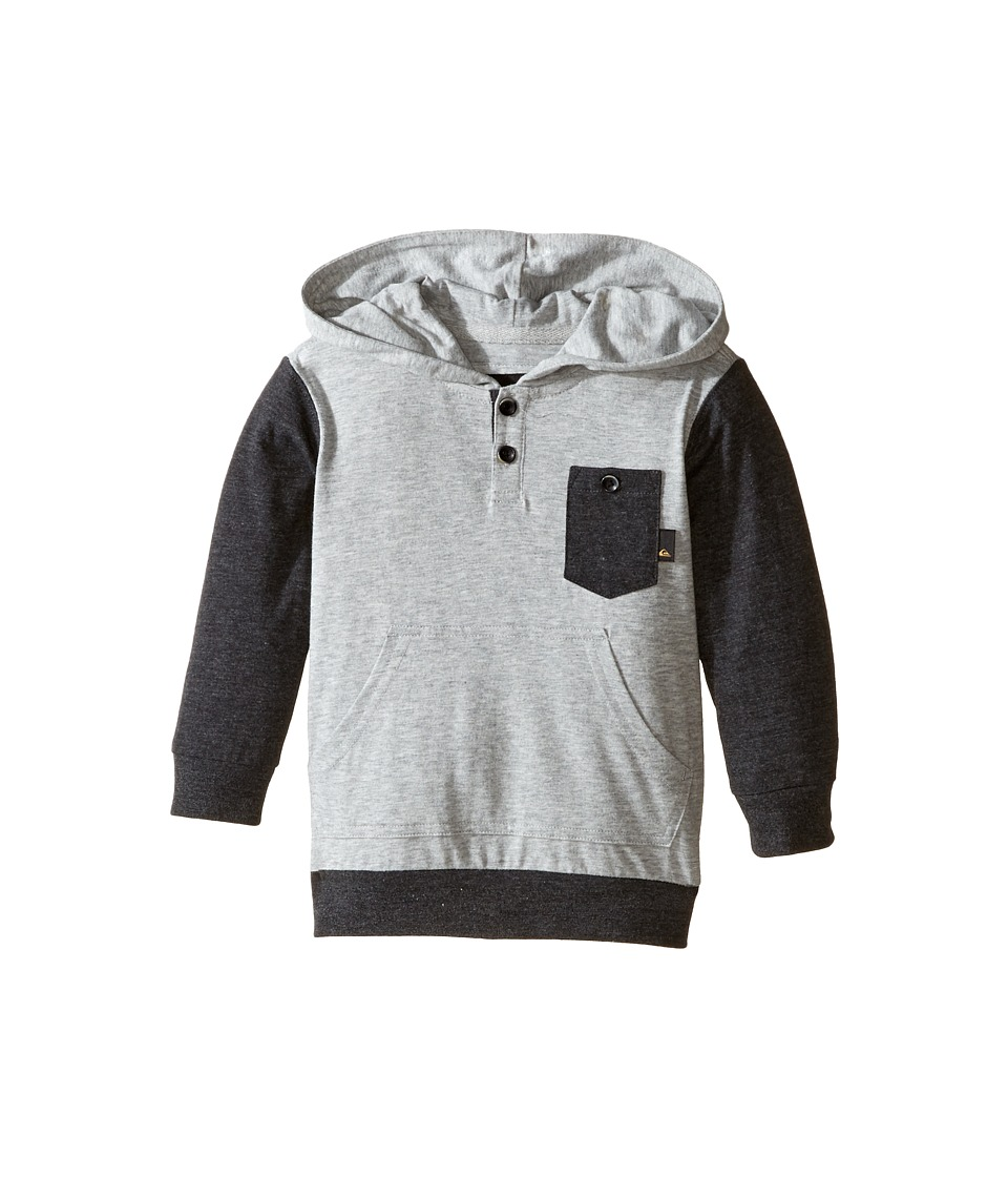 Quiksilver Kids - Guitar Magic Knit Top (Toddler/Little Kids) (Light Grey Heather) Boy's Clothing