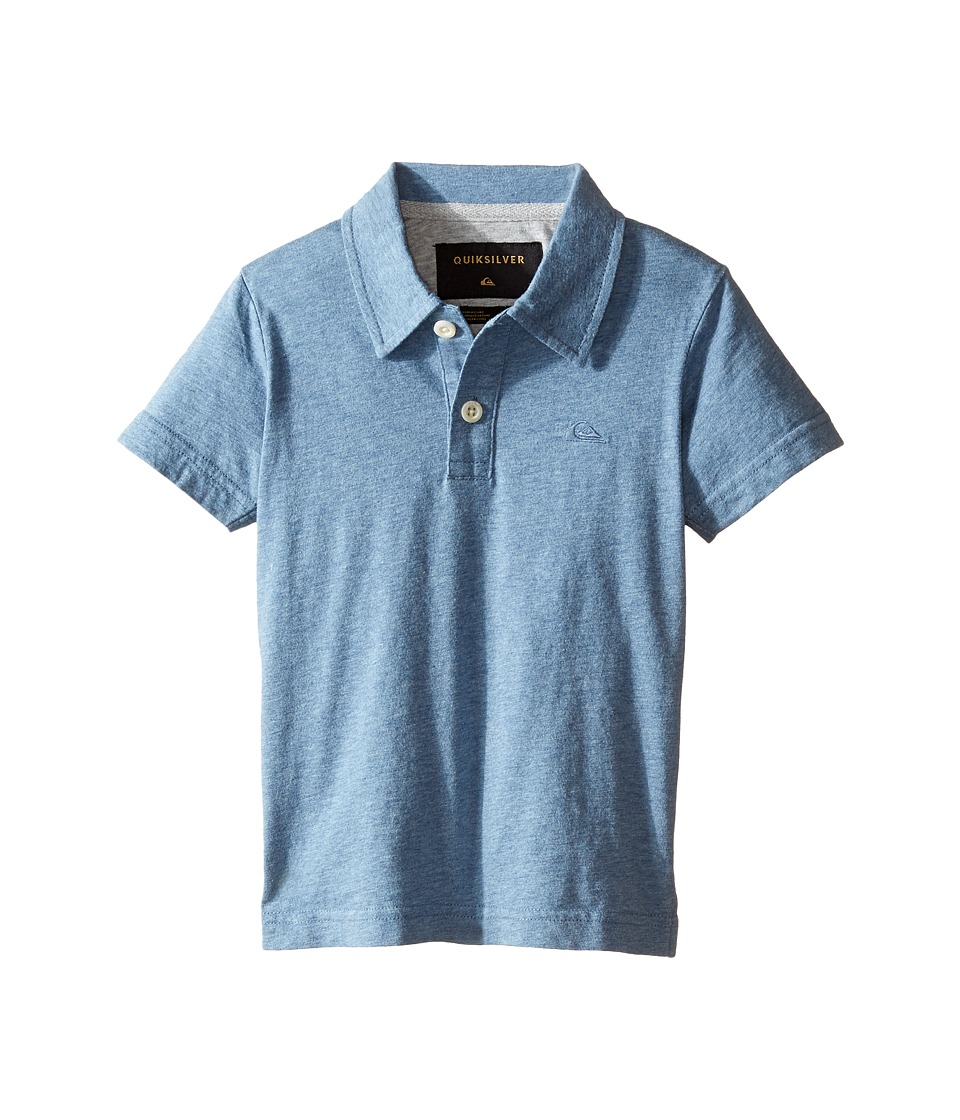 Quiksilver Kids - Dry Harbour Knit Top (Toddler/Little Kids) (Captains Blue Heather) Boy's Clothing