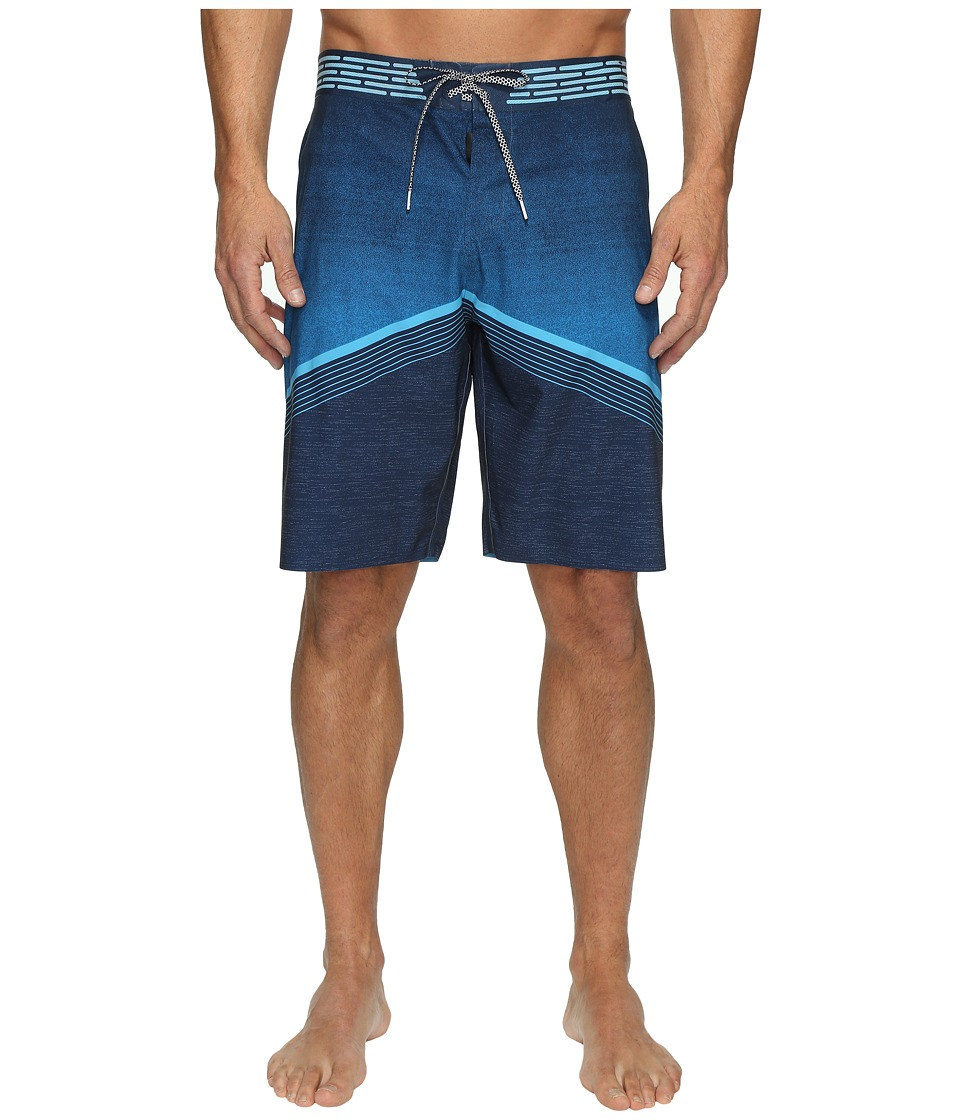 O'Neill - Hyperfreak Hydro Superfreak Series Boardshorts (Navy) Men's Swimwear