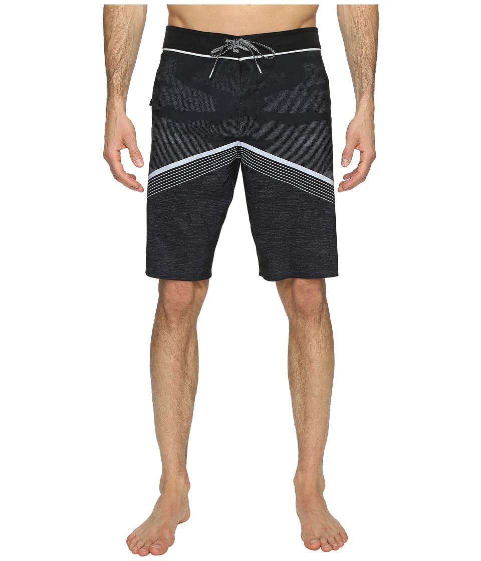 O'Neill - Hyperfreak Superfreak Series Boardshorts (Black Camo) Men's Swimwear