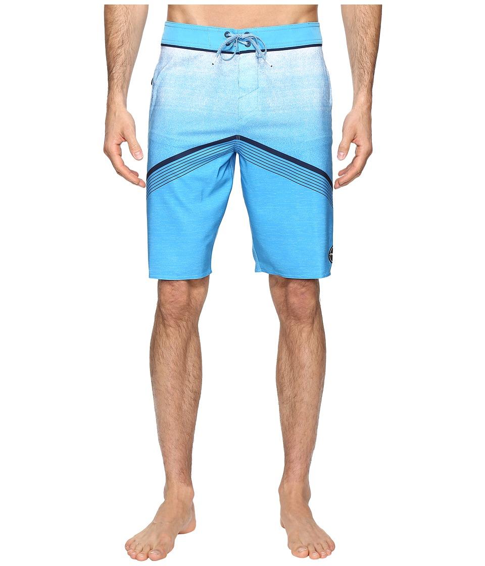 O'Neill - Hyperfreak Superfreak Series Boardshorts (Neon Blue) Men's Swimwear