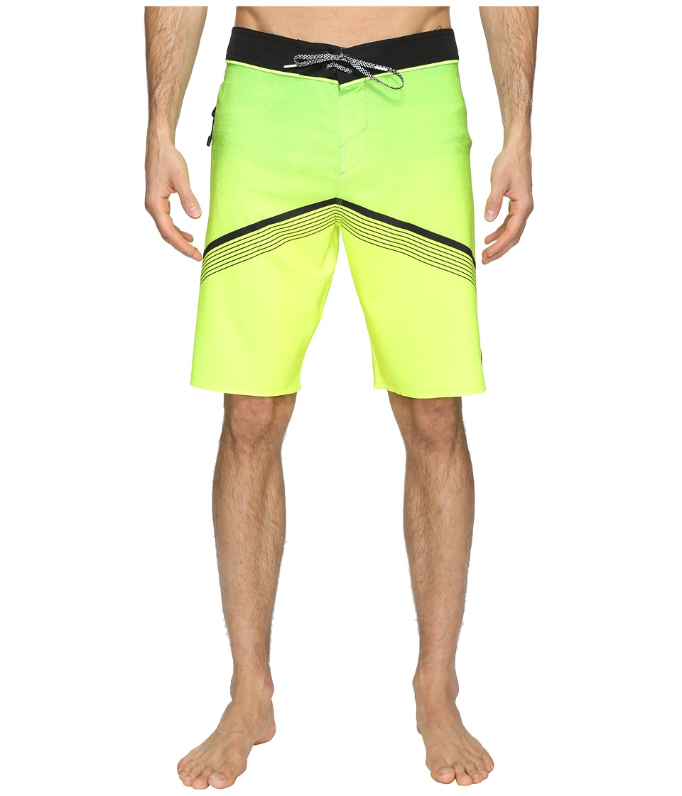 O'Neill - Hyperfreak Superfreak Series Boardshorts (Neon Green) Men's Swimwear
