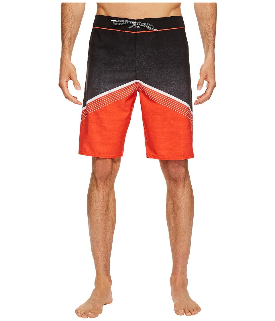 O'Neill - Hyperfreak Superfreak Series Boardshorts (Neon Red) Men's Swimwear