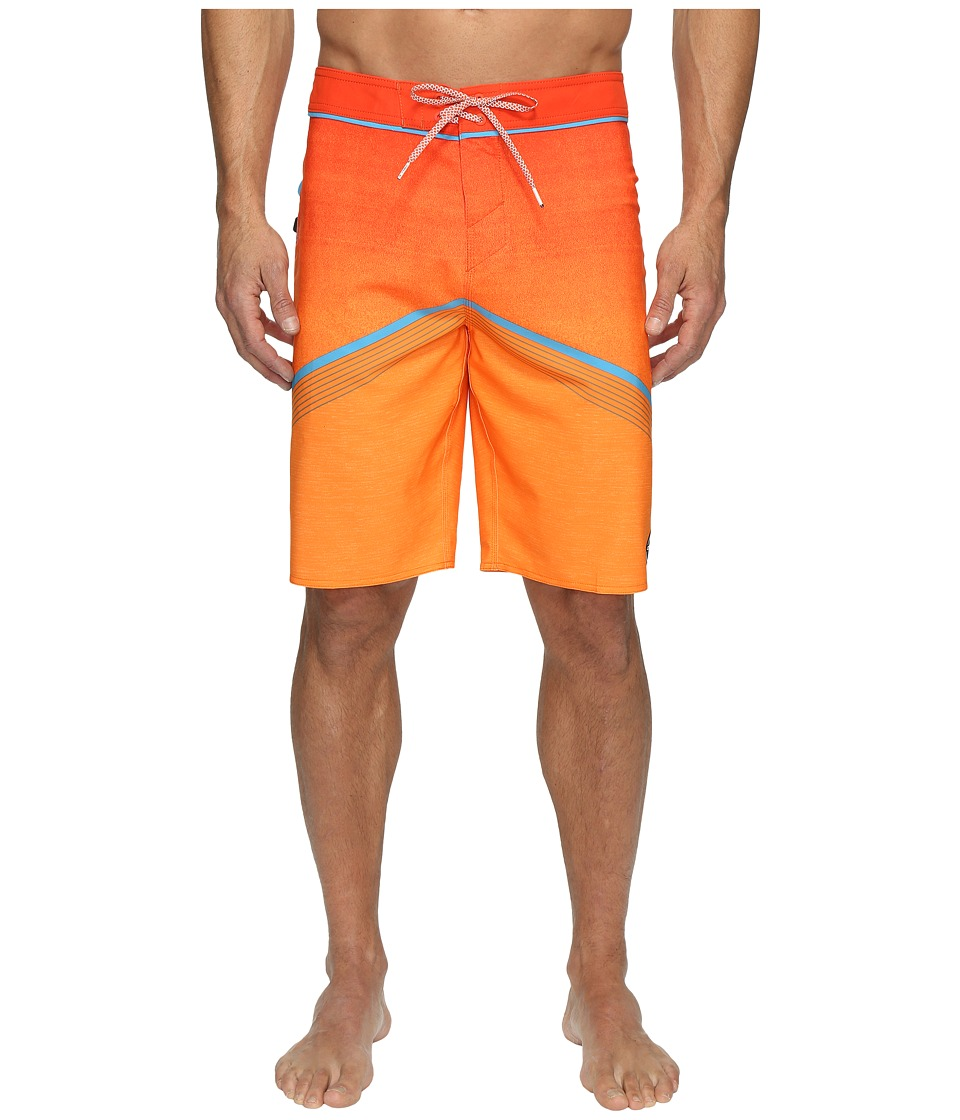 O'Neill - Hyperfreak Superfreak Series Boardshorts (Neon Orange) Men's Swimwear