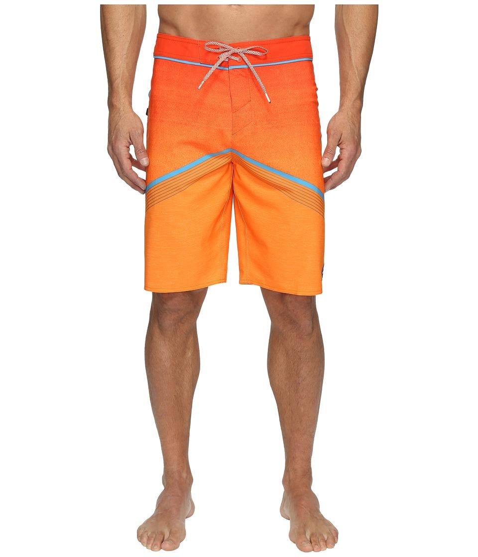 O'Neill - Hyperfreak Superfreak Series Boardshorts (Neon Orange) Men's Swimwear