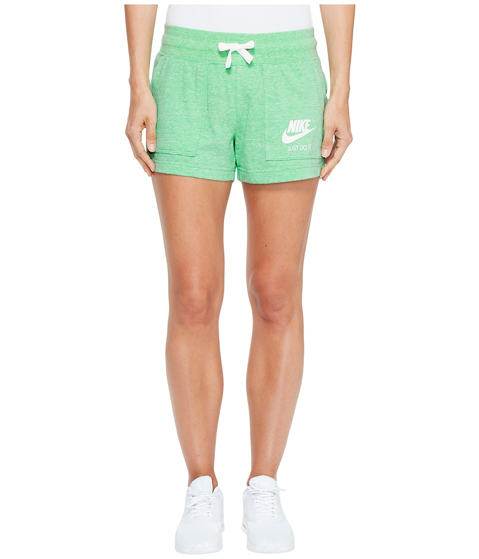 Nike - Sportswear Gym Vintage Short (Tourmaline/Sail) Women's Shorts