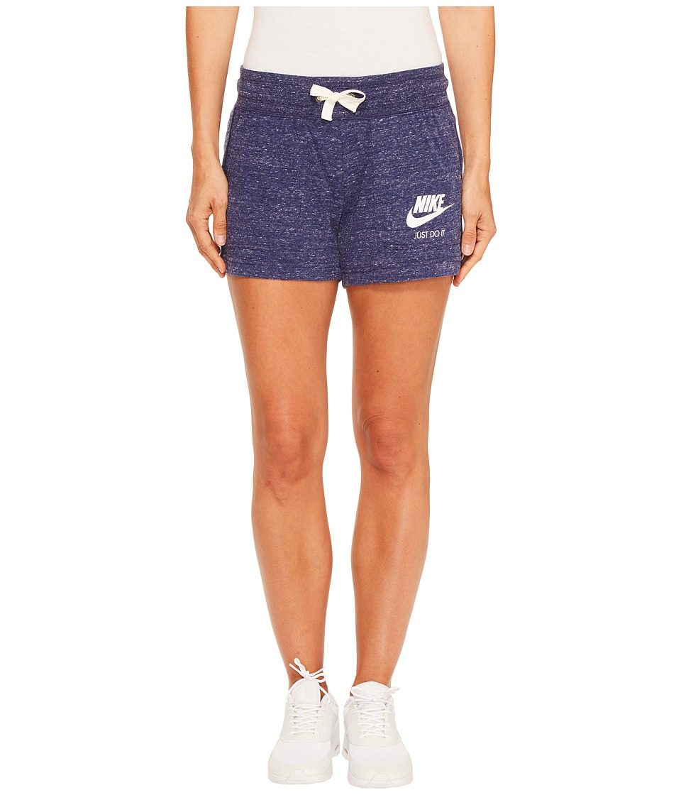 Nike - Sportswear Gym Vintage Short (Binary Blue/Sail) Women's Shorts