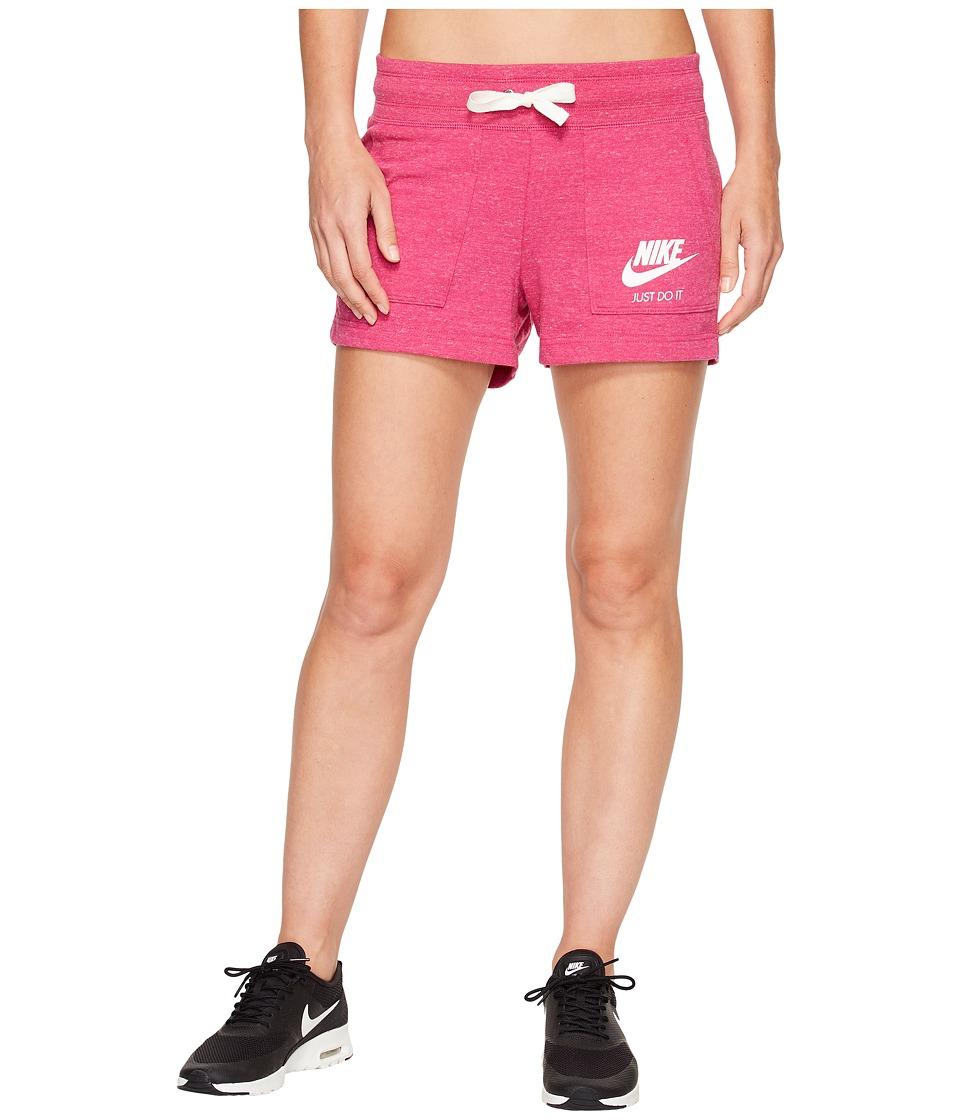 Nike - Sportswear Gym Vintage Short (Sport Fuchsia/Sail) Women's Shorts