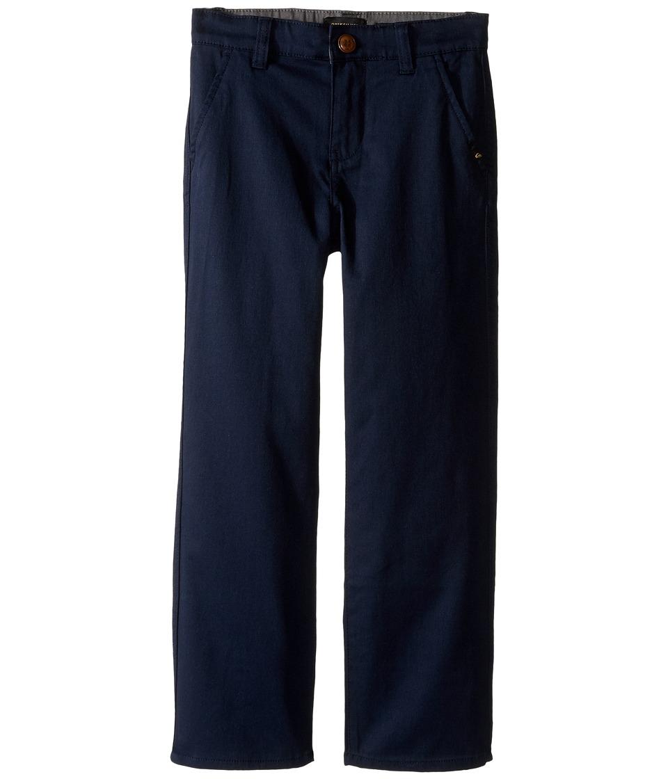 Quiksilver Kids - Everyday Union Pant Non-Denim Pants (Toddler/Little Kids) (Navy Blazer) Boy's Casual Pants