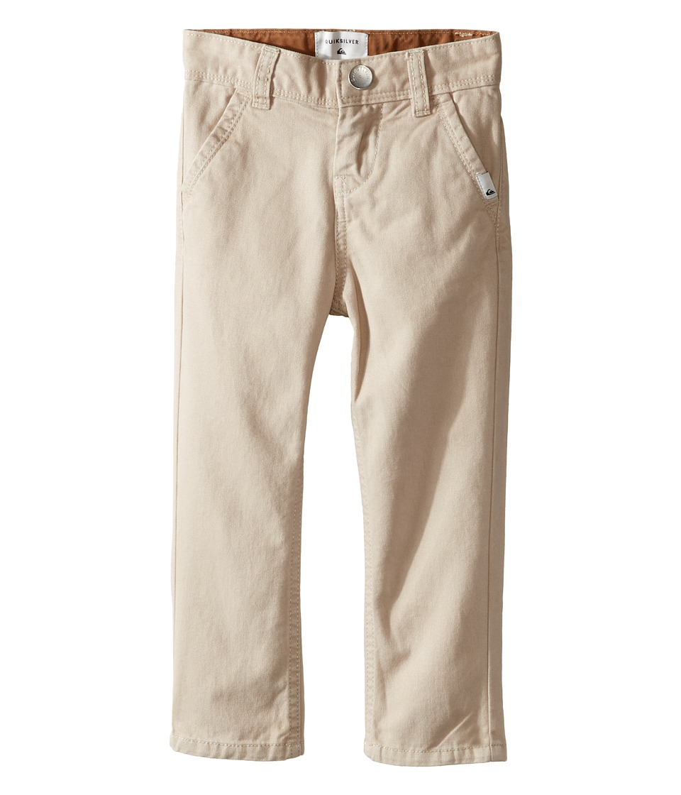 Quiksilver Kids - Everyday Chino Non-Denim Pants (Toddler/Little Kids) (Plaza Taupe) Boy's Casual Pants