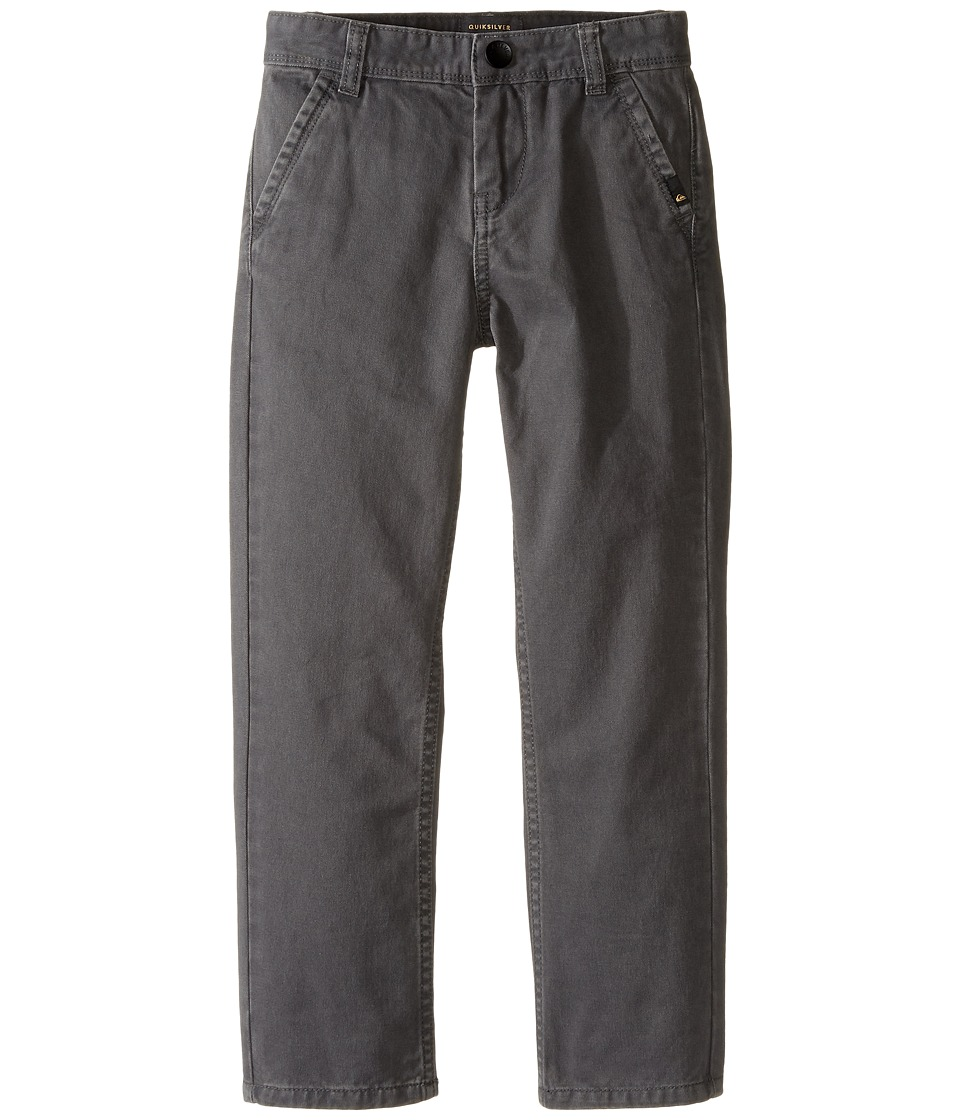 Quiksilver Kids - Everyday Chino Non-Denim Pants (Toddler/Little Kids) (Dark Shadow) Boy's Casual Pants