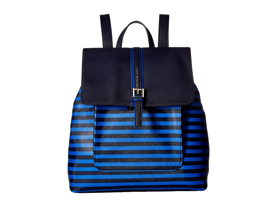 Tommy Hilfiger - Claire II Backpack (Navy/Dory Blue) Backpack Bags