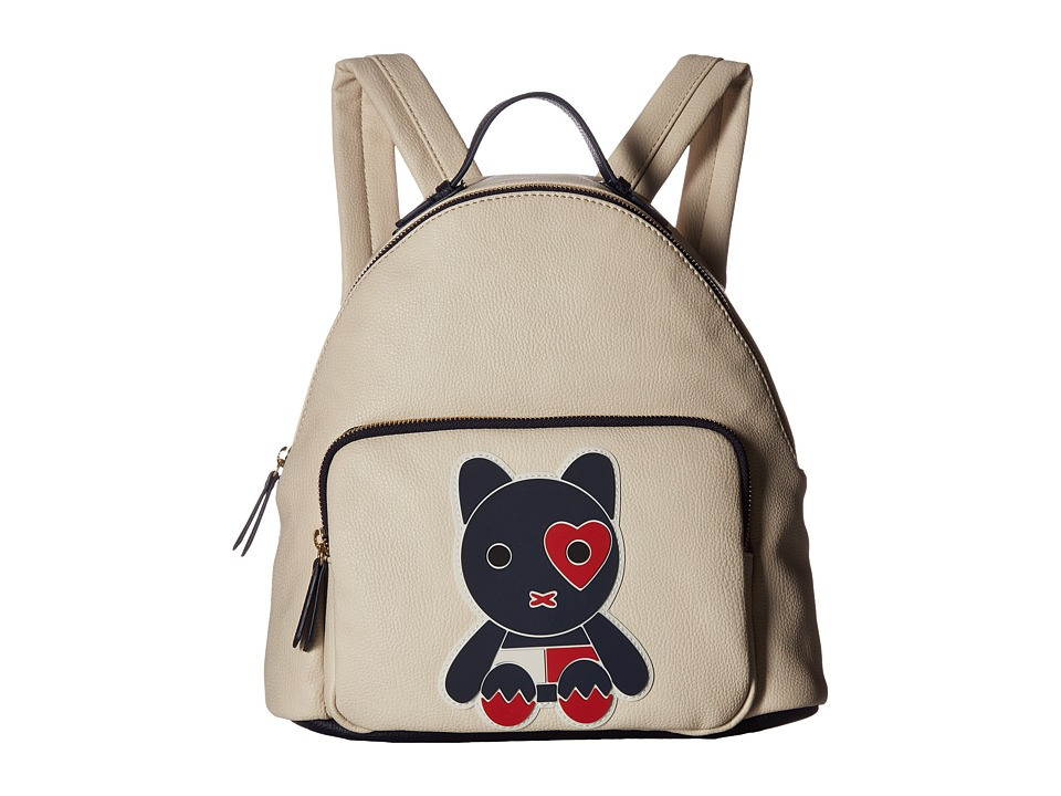 Tommy Hilfiger - Honey Dome Backpack Mascot Print (Oatmeal) Backpack Bags