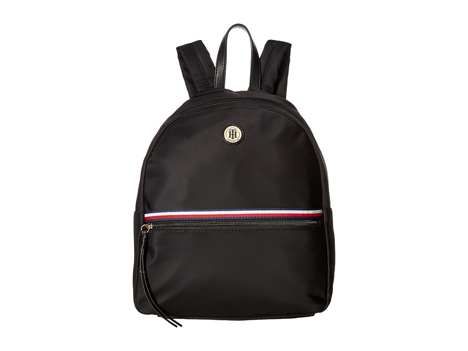 Tommy Hilfiger - Corinne II Dome Backpack (Black) Backpack Bags