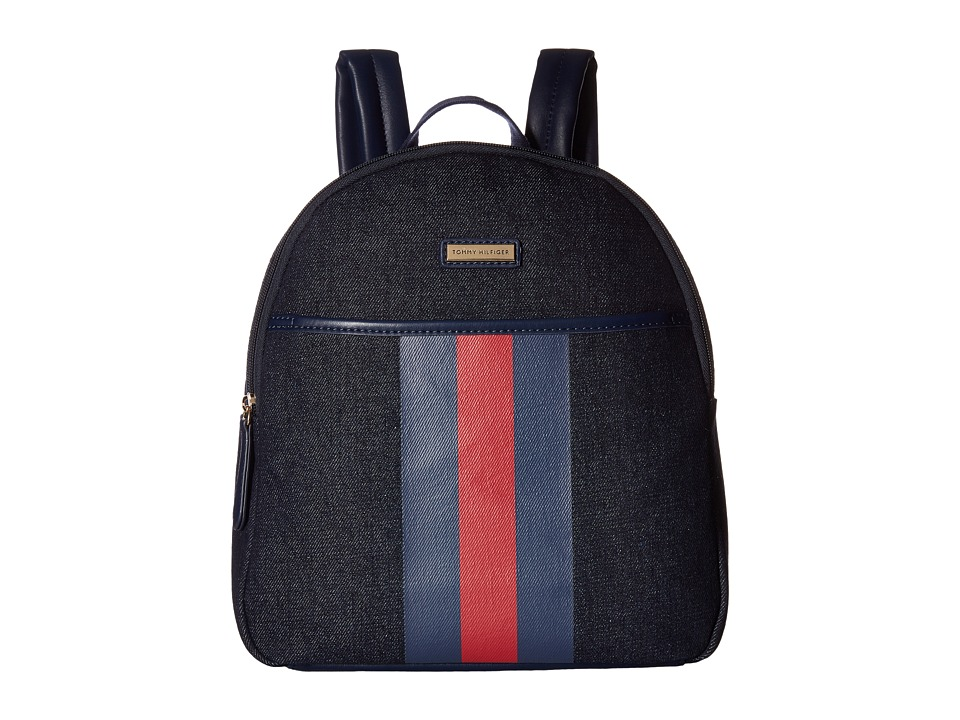 Tommy Hilfiger - Lauren II Backpack (Denim) Backpack Bags