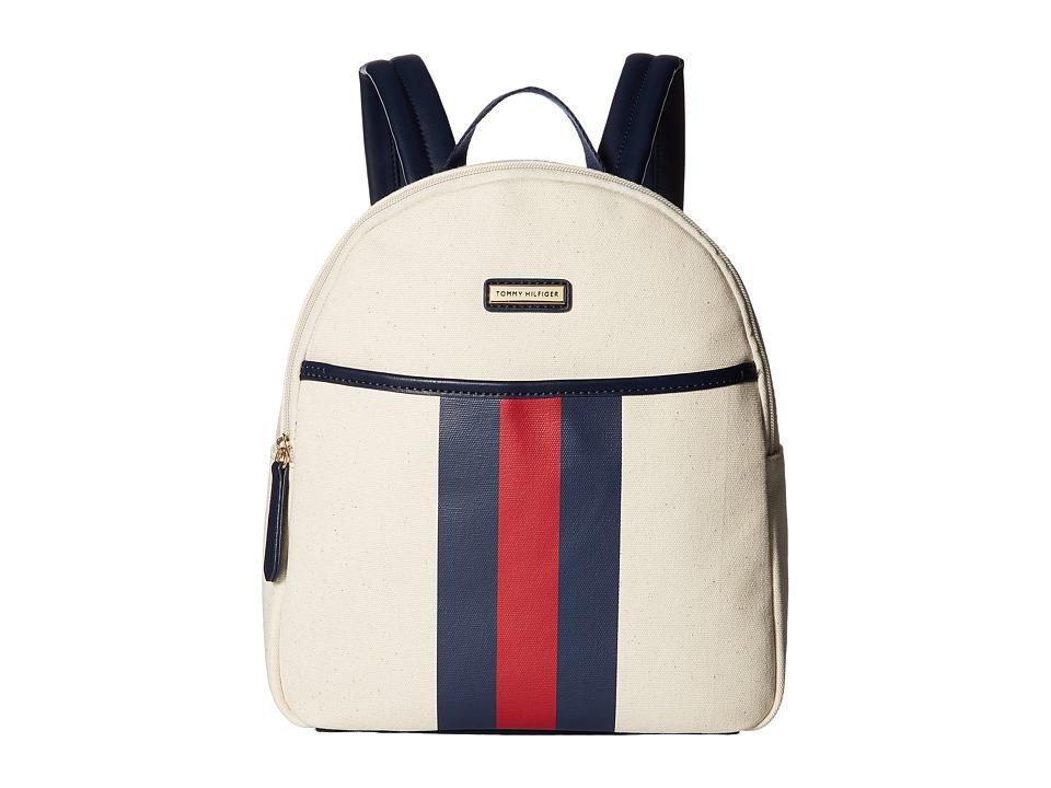 Tommy Hilfiger Lauren II Backpack (Natural) Backpack Bags