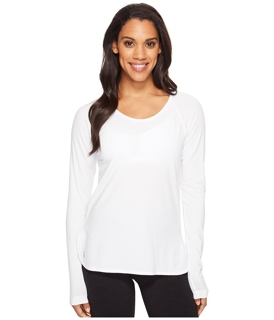 Lole Kendra Long Sleeve Top (White) Women