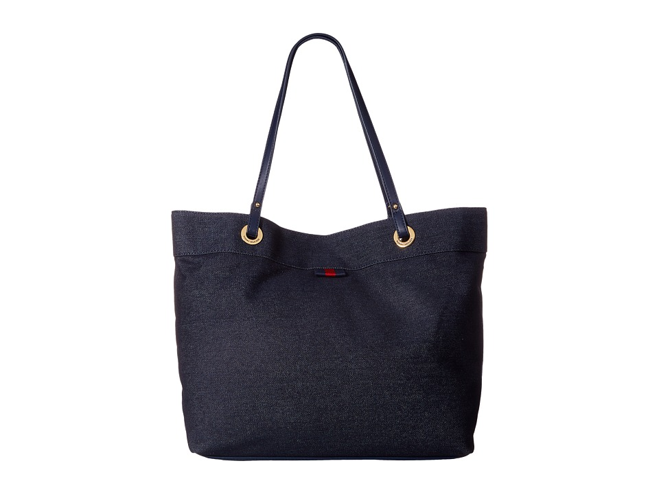 Tommy Hilfiger - TH Grommet II Large Tote Denim (Denim) Tote Handbags