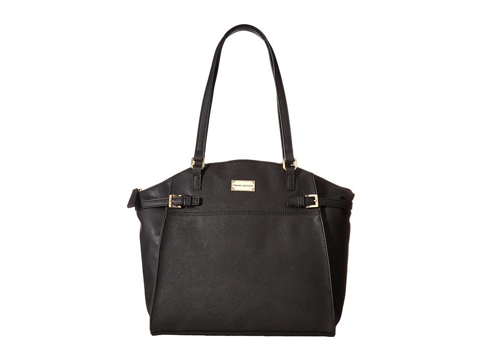 Tommy Hilfiger - Parker II Tote (Black) Tote Handbags