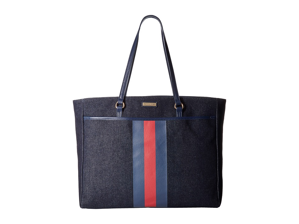 Tommy Hilfiger - Lauren II Tote (Denim) Tote Handbags
