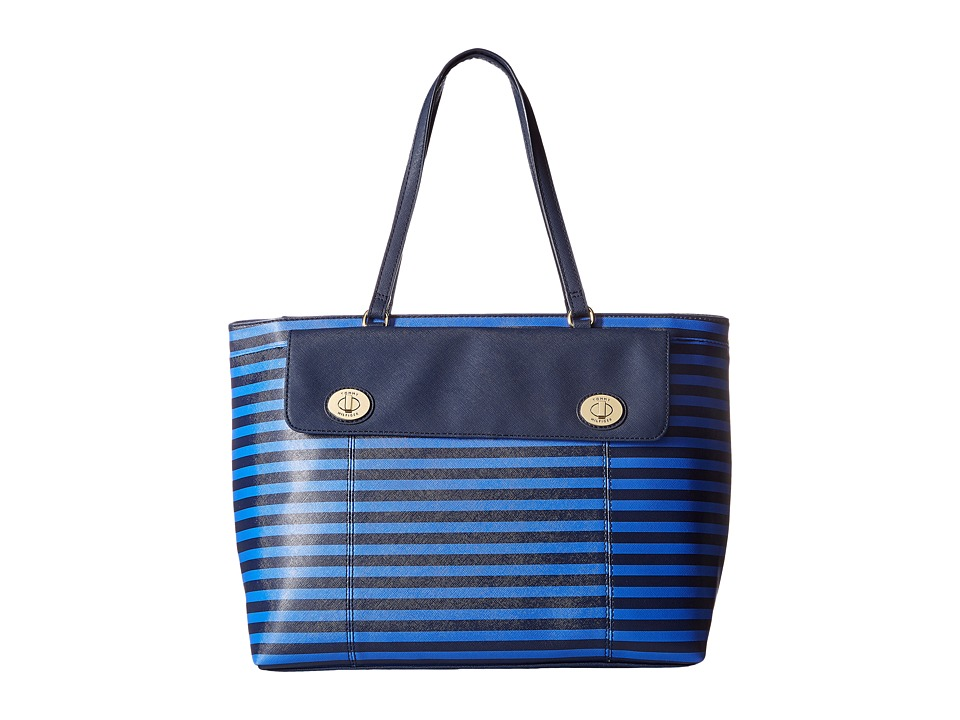 Tommy Hilfiger - Polly II Tote (Navy/Dory Blue) Tote Handbags