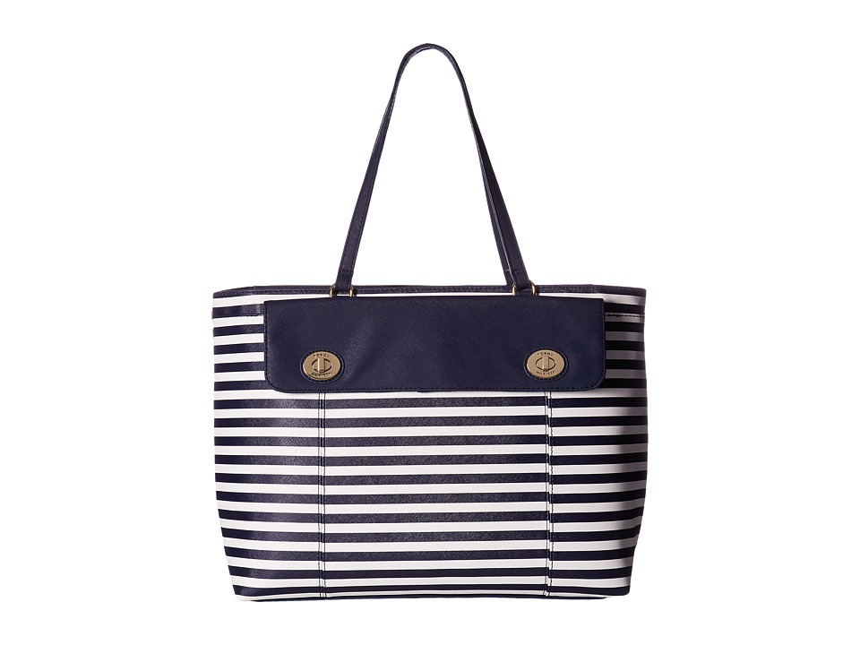 Tommy Hilfiger - Polly II Tote (Navy/Cream) Tote Handbags