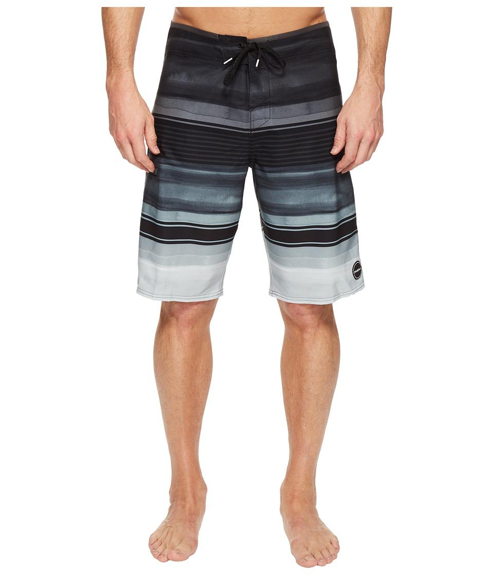 O'Neill - Hyperfreak Heist Superfreak Series Boardshorts (Black) Men's Swimwear