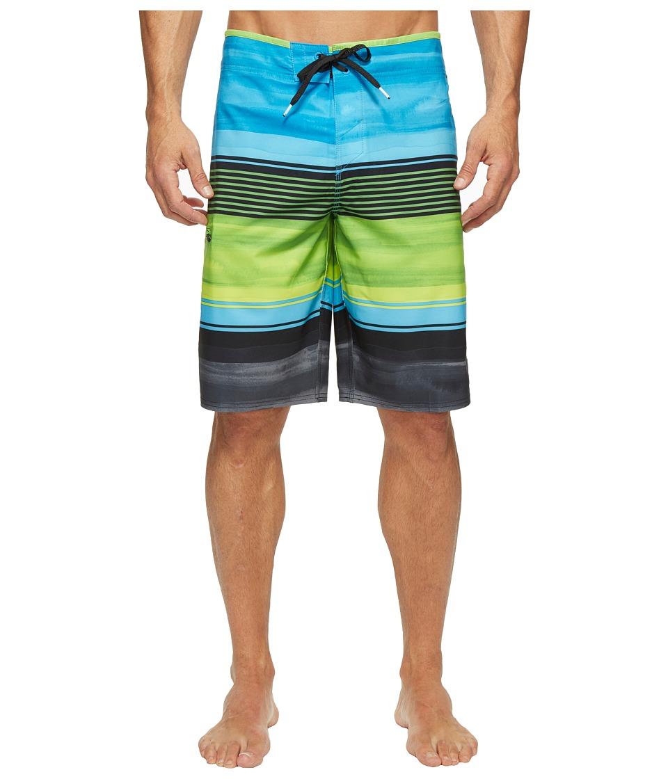 O'Neill - Hyperfreak Heist Superfreak Series Boardshorts (Lime) Men's Swimwear