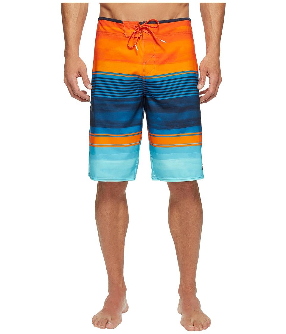 O'Neill - Hyperfreak Heist Superfreak Series Boardshorts (Orange) Men's Swimwear