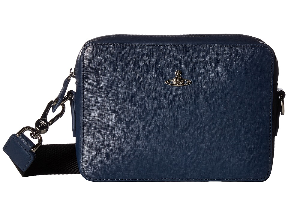 Vivienne Westwood - Kent Camera Bag (Blue) Messenger Bags