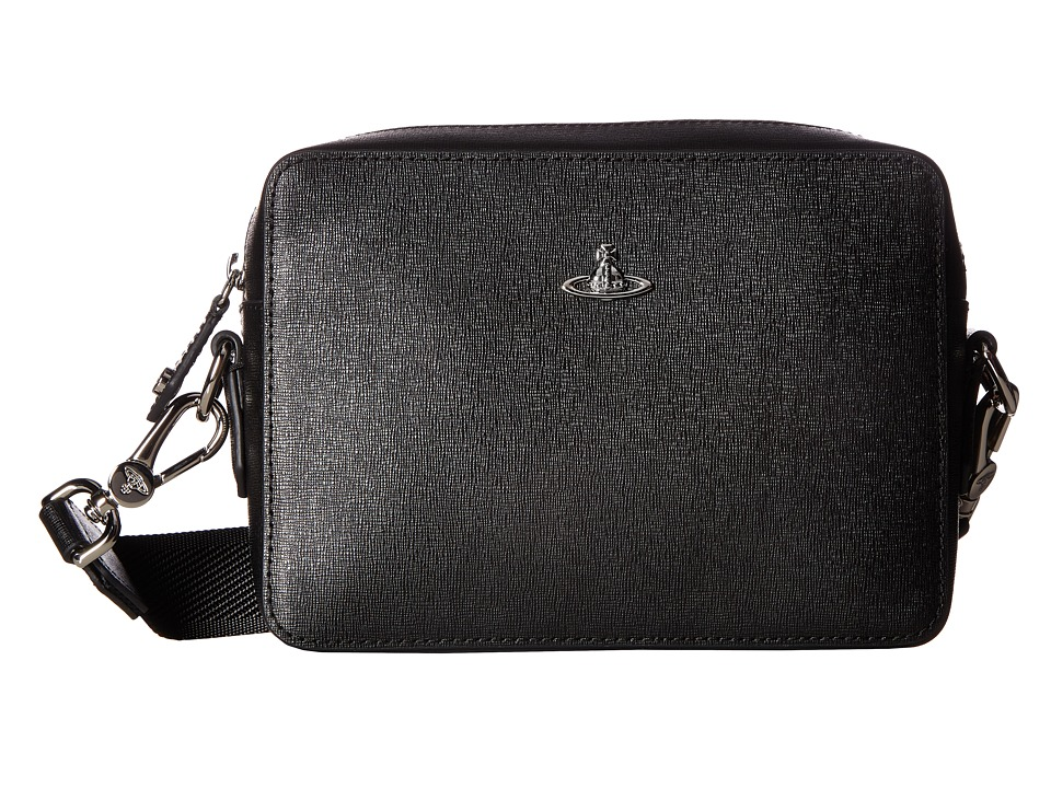 Vivienne Westwood - Kent Camera Bag (Black) Messenger Bags