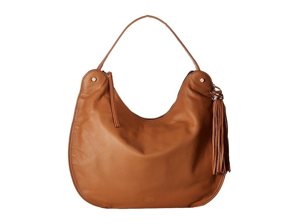 Vince Camuto - Chana Hobo (Chestnut Brown/Black) Hobo Handbags