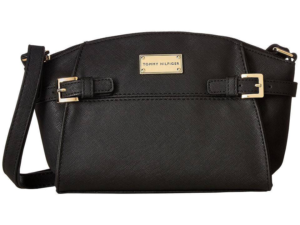 Tommy Hilfiger - Parker II East/West Crossbody (Black) Cross Body Handbags