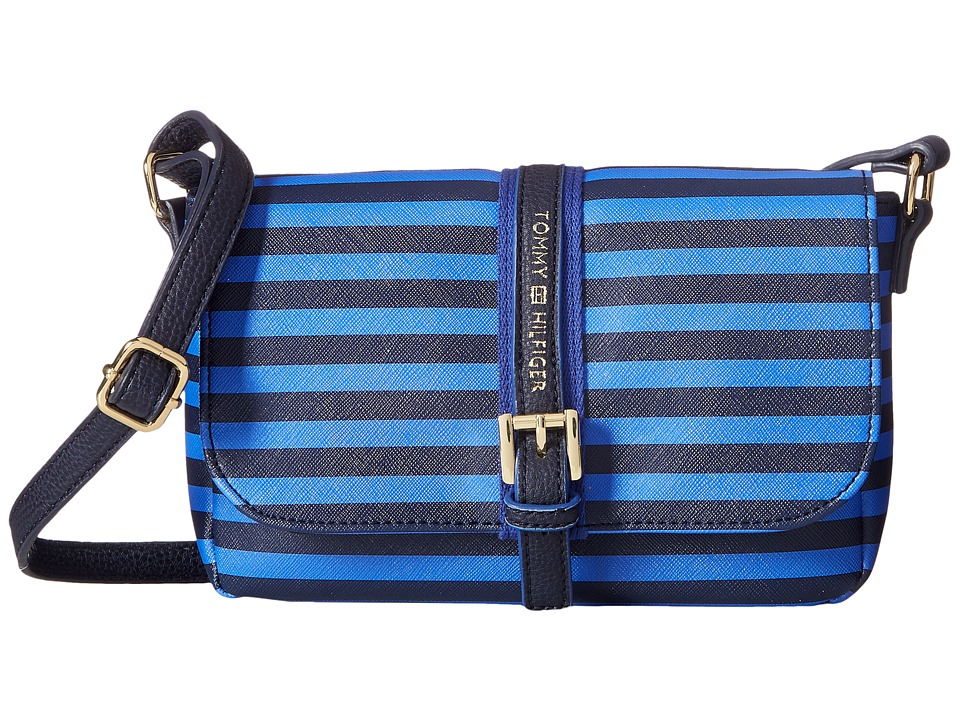 Tommy Hilfiger - Claire II East/West Crossbody (Navy/Dory Blue) Cross Body Handbags