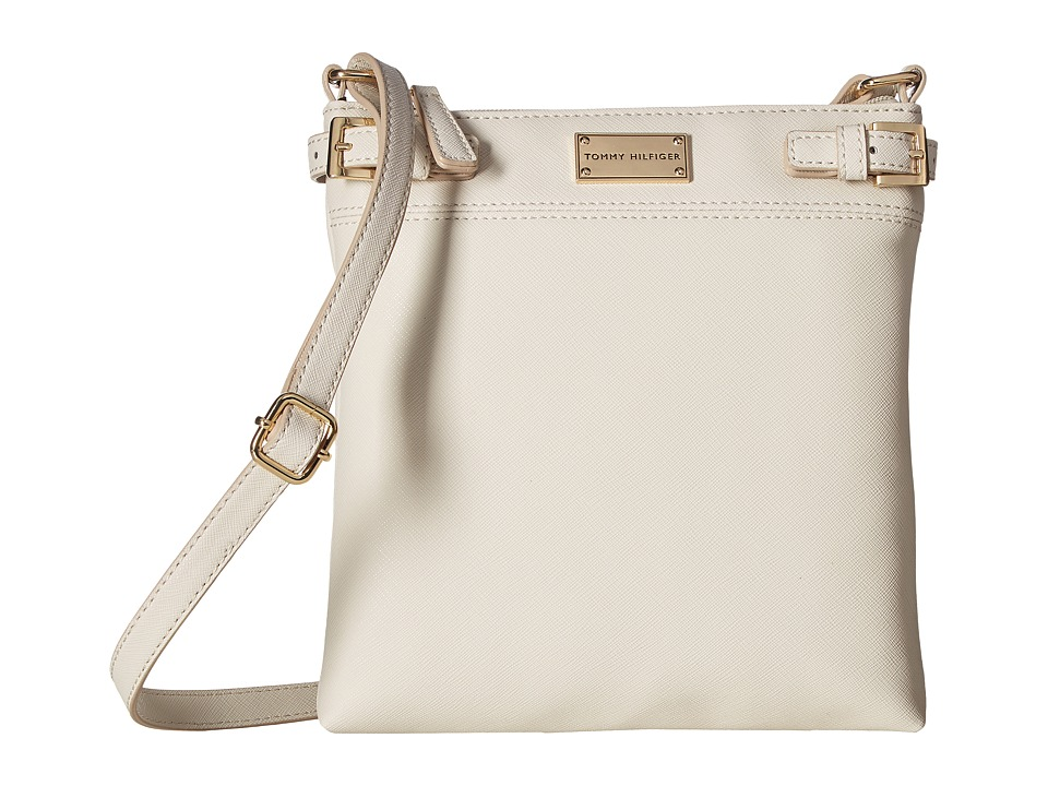 Tommy Hilfiger - Parker II North/South Crossbody (Oatmeal) Cross Body Handbags