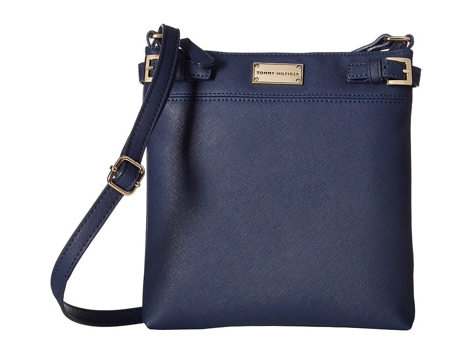Tommy Hilfiger - Parker II North/South Crossbody (Tommy Navy) Cross Body Handbags